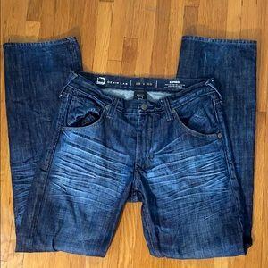 ✅ EXPRESS Denim Lab Slim Low Rise Straight Jeans